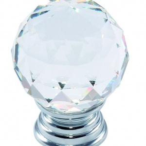 Firma Amix oferuje uchwyty o optyce kryształu lub wykonane z kryształu (w zależności od modelu). Fot. Amix