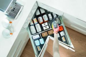 Zagospodarowanie przestrzeni narożnych w kuchni