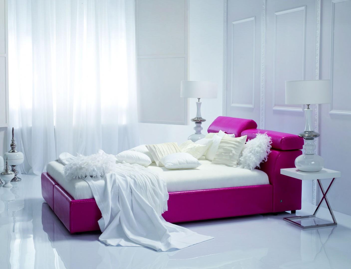 """Rama łóżka """"Milonga"""" Fot. Kler."""
