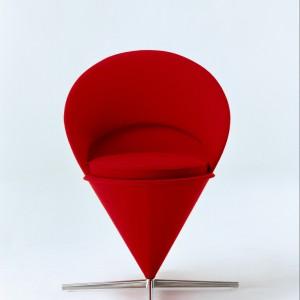 Stożek Krzesło Panton, twórcaThomas Dix, Fot. © Vitra