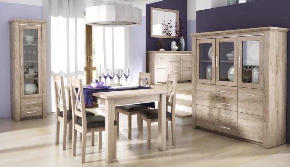 Katalog mebli  Zestaw do salonu i jadalni  Lugo   meble   -> Kuchnia San Marino Agata Meble
