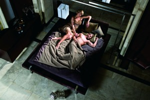 Łóżko i sypialnia - spotkanie w salonie Kler