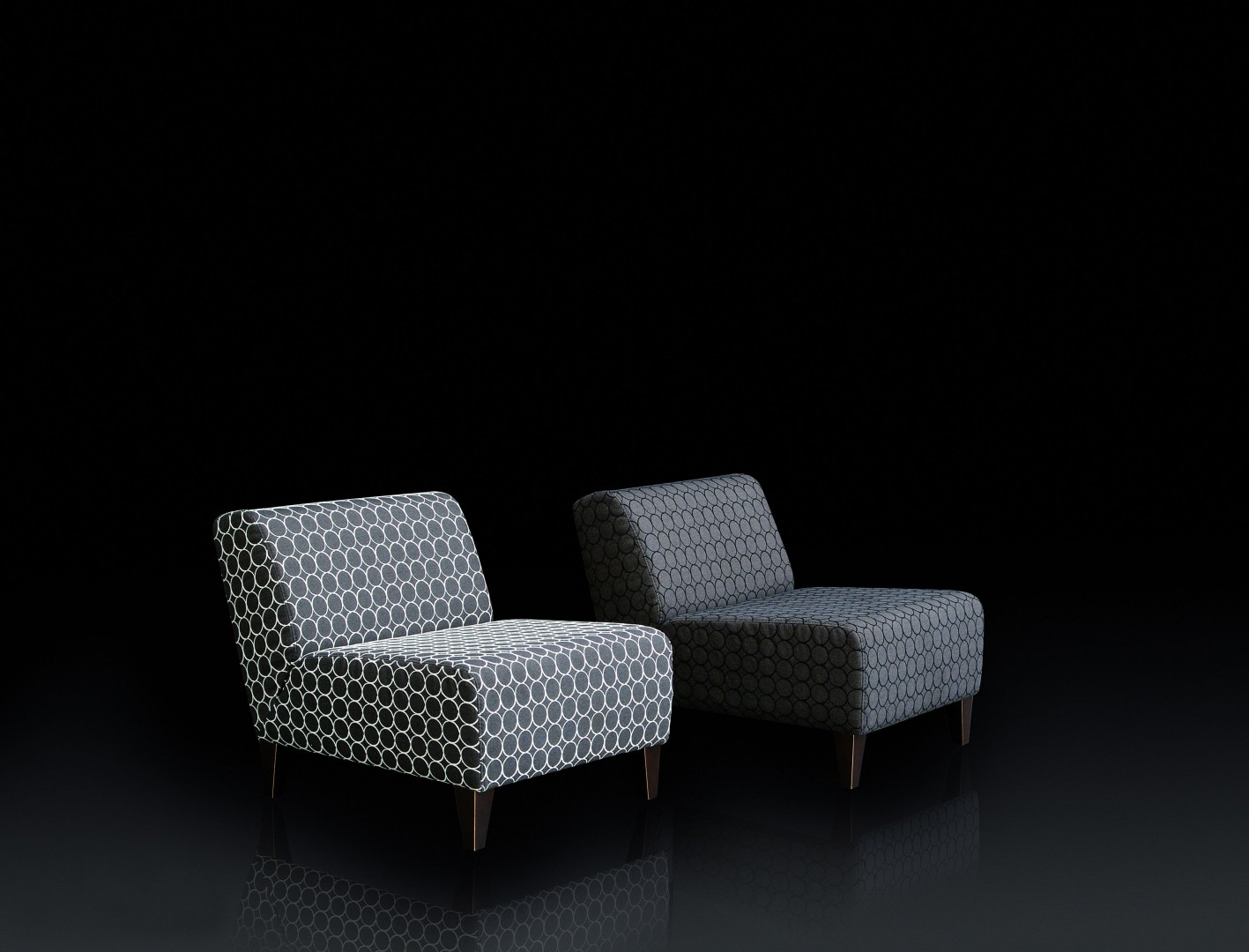 "Fotele ""Mini"" marki Komfort Meble. Fot. Archiwum"