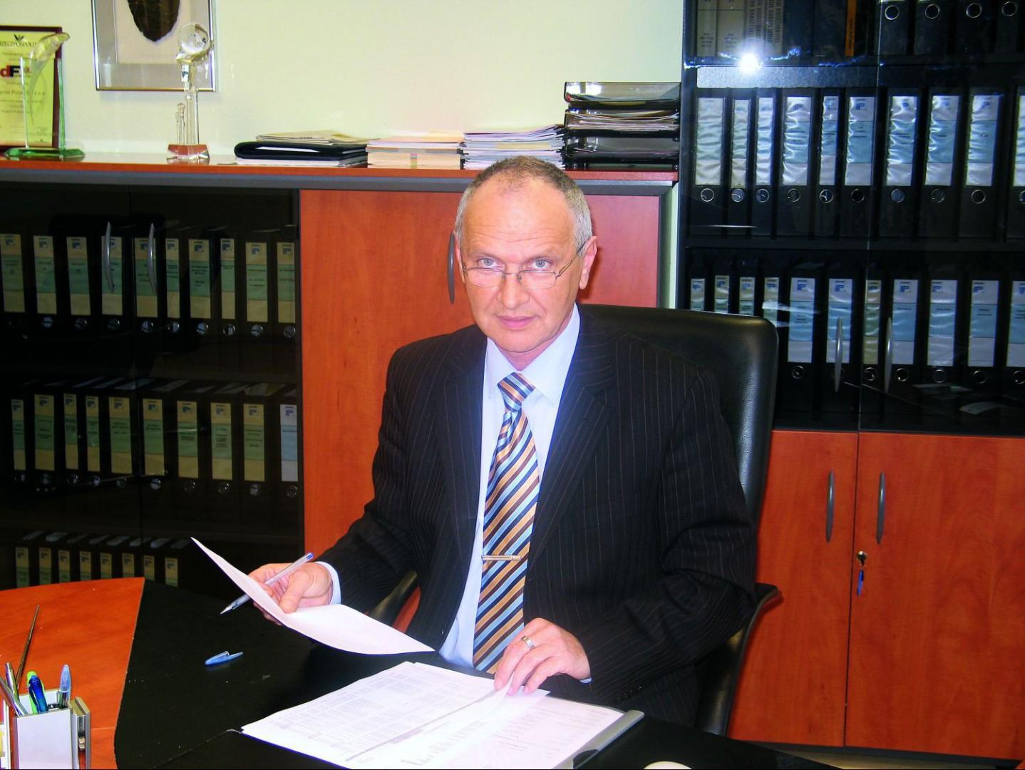Bernhard Lukaschyk. Fot. Archiwum.