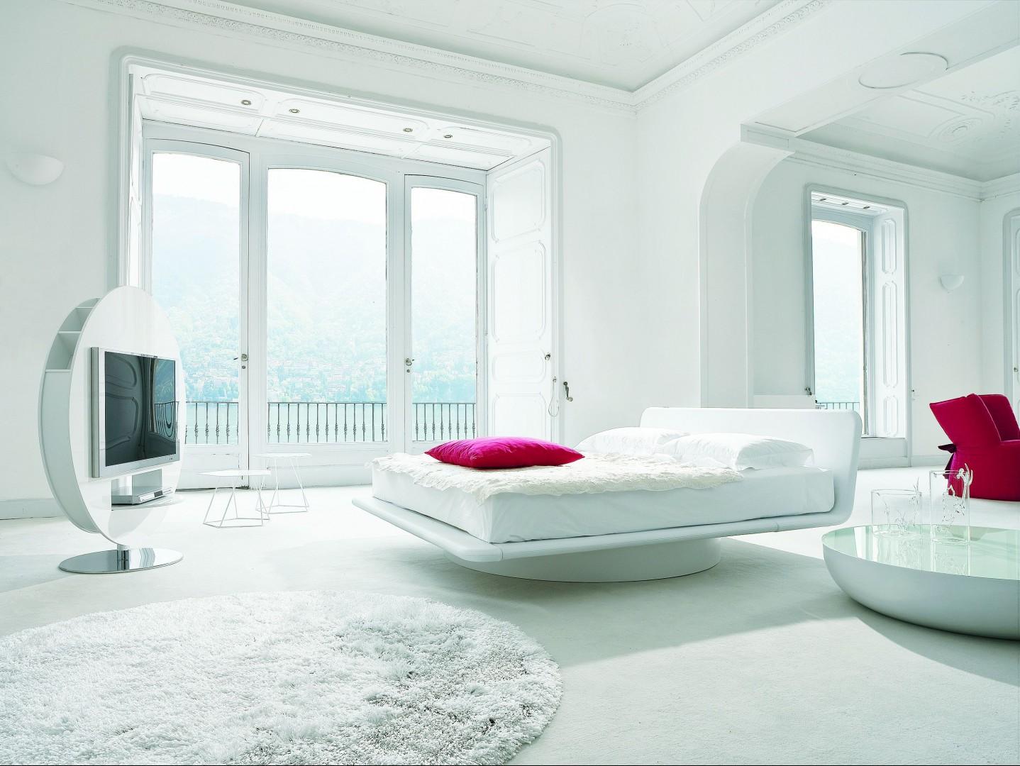 """""""Giotto"""" - luksus i transparentność w sypialni. Fot. Archiwum"""