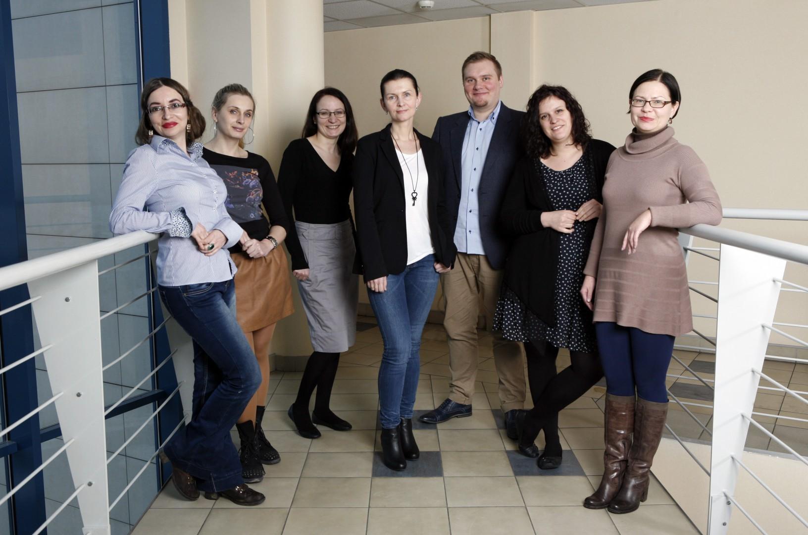 Redakcja meble.com.pl - w pełnym składzie. Fot. Bartosz Jarosz