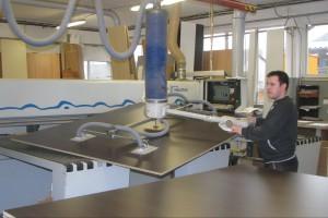 Produkcja i maszyny w małym zakładzie stolarskim