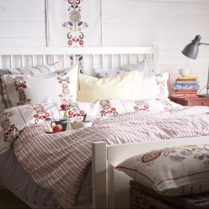 Pościel z łowieckimi motywami to modny detal w domu. Fot. IKEA