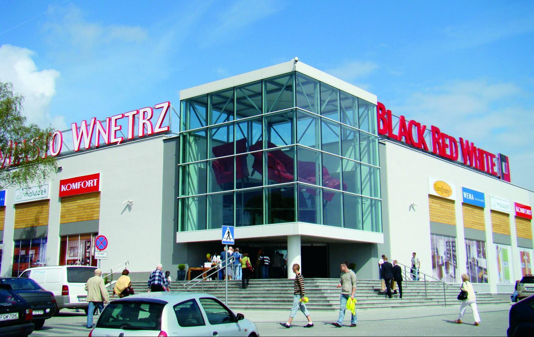 Miasto Wnętrz - salon należący do sieci sprzedaży BRW. Fot. archiwum