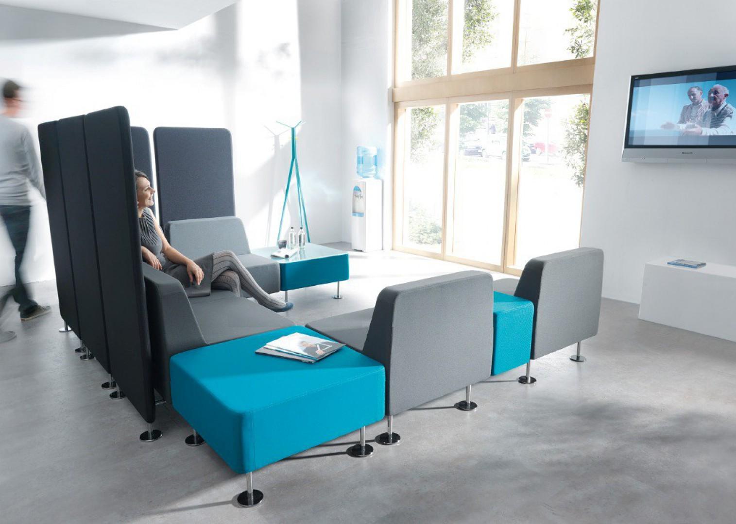 W nowoczesnym biurze możesz poczuć się prawie jak w domu. Fot. Profim
