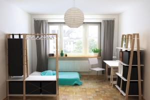 Małe mieszkanie. Meble idealne do kawalerki