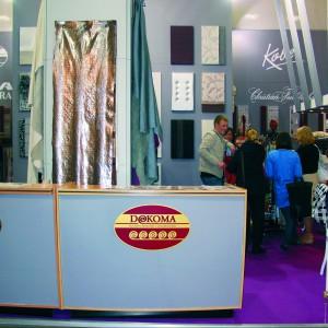 Wśród wystawców targów meblowych pojawiła się firma Dekoma z tkaninami obiciowymi. Fot. archiwum