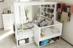 Meble w sypialni. 5 inspiracji na łóżko wielofunkcyjne