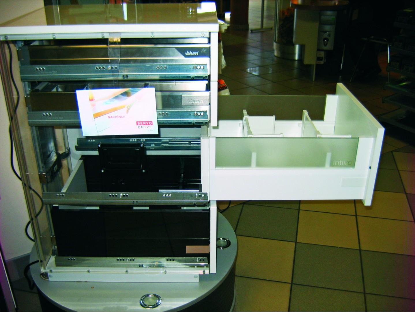 Jeden z systemów prezentowanych projektantom w Białowieży. Fot. Agnieszka Błachowska