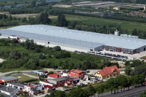 Fabryka firmy Stolpłyt  w Elblągu