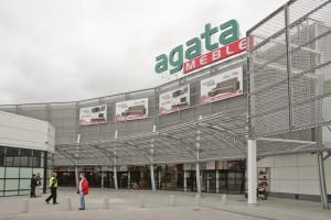 Rozbudowany salon Agaty w Katowicach