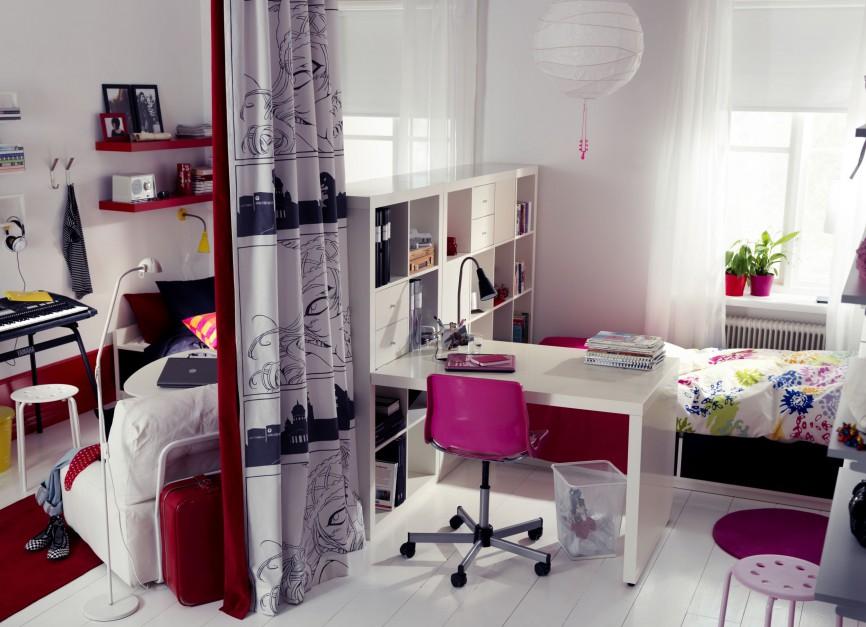 Pomysłowe urządzenie pokoju młodzieżowego to prawdziwe wyzwanie. Fot. IKEA