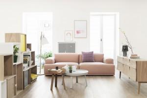 Meble drewniane do salonu - przegląd dizajnerskich pomysłów