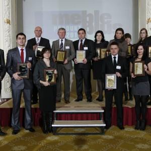 Przedstawiciele firm wyróżnionych w konkursie