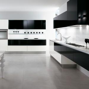 Kucunia Elba 40 w kontrastowym połączeniu czerni i bieli. Fot. Biefbi