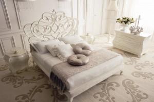 Łoża sypialniane w stylu glamour