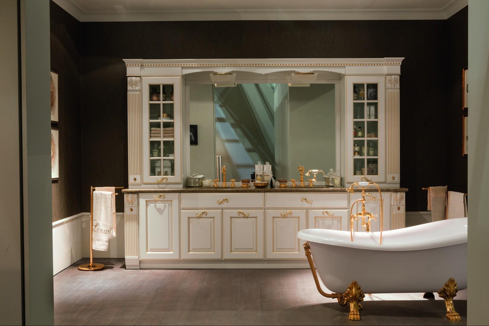 Wybieramy Meble Elegancka łazienka W Stylu Retro