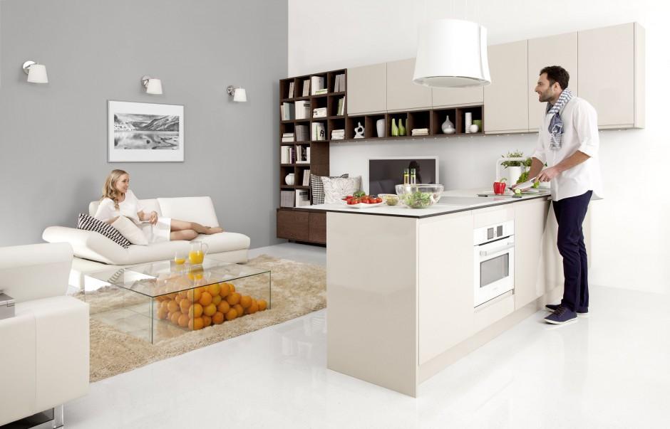Urządzamy  Kuchnia z salonem Najlepsze pomysły na funkcjonalne wnętrze  me   -> Urządzamy Mieszkanie Kuchnia