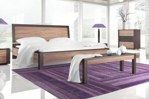 """Sypialnia """"Amato"""" w dwóch kolorach drewna"""