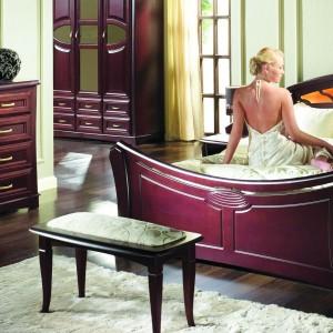 Tapicerowana ławka z kolekcji
