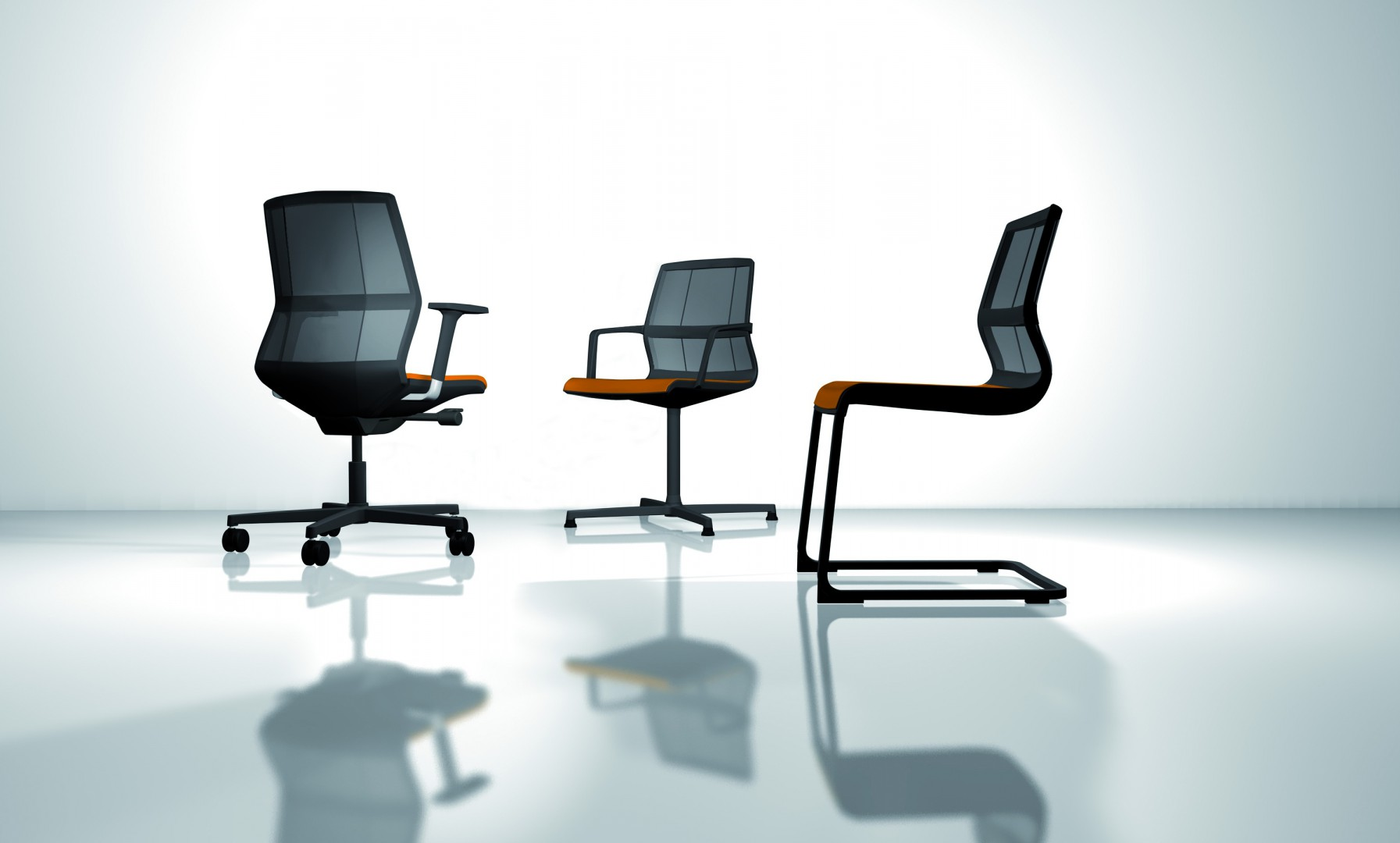 Krzesła i fotele firmy Wiesner Hager. Fot. Archiwum