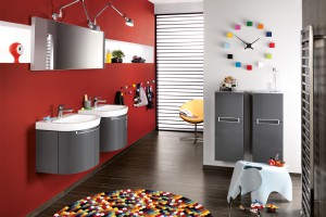 Łazienka dla dzieci - kolorowe propozycje