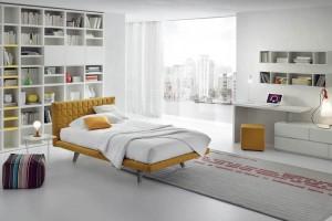 Łóżka tapicerowane tkaniną - odważne i niebanalne