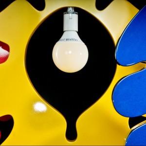Lampy Marcina Skubisza to wyraźna forma i barwa. Fot. Archiwum.