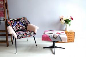 La Silla - meble inspirowane obrazami Fridy Kahlo