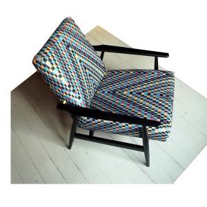 Klasyczny fotel z lat 70-tych. Fot. Wyrobki