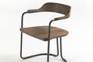 """Krzesło """"Tubolar""""- natura i minimalizm w jednym"""