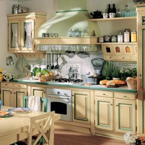 Rustykalne wnętrze kuchni. Fot. Lottocento