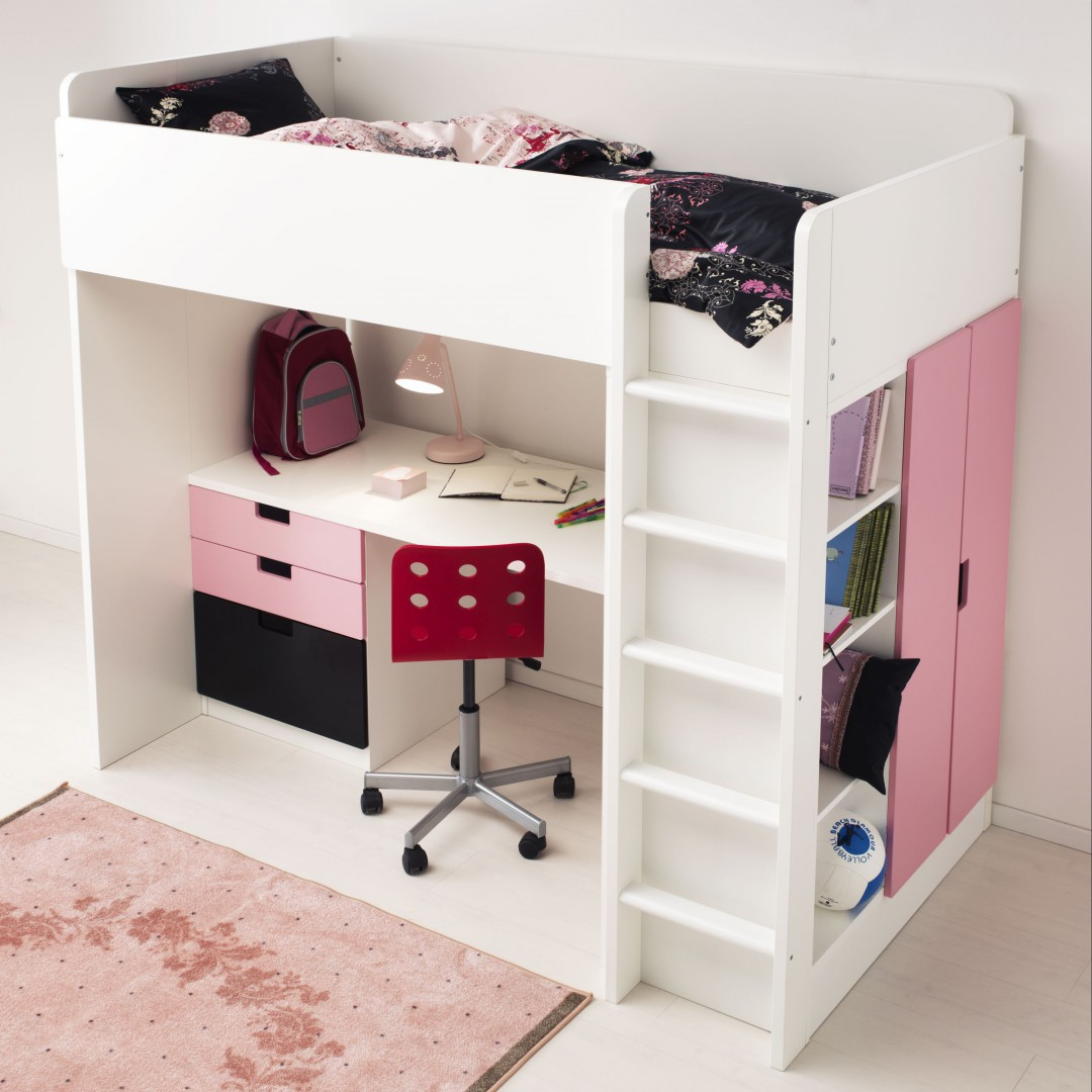 Okazje Ikea Nowość Stuva Dziecięce łóżko Na Antresoli