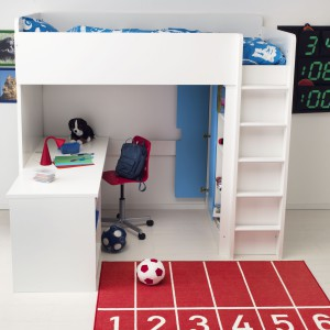 Okazje Ikea Nowość Stuva Dziecięce łóżko Na Antresoli Meble