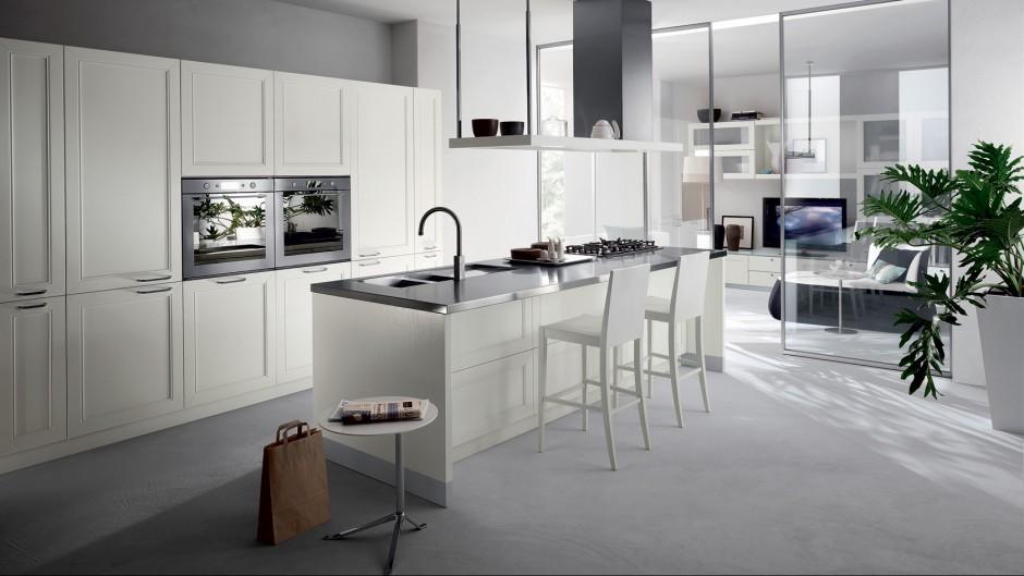 Urządzamy  Kuchnia z wysoką zabudową  praktyczna i efektowna  meble com pl -> Urządzamy Mieszkanie Kuchnia