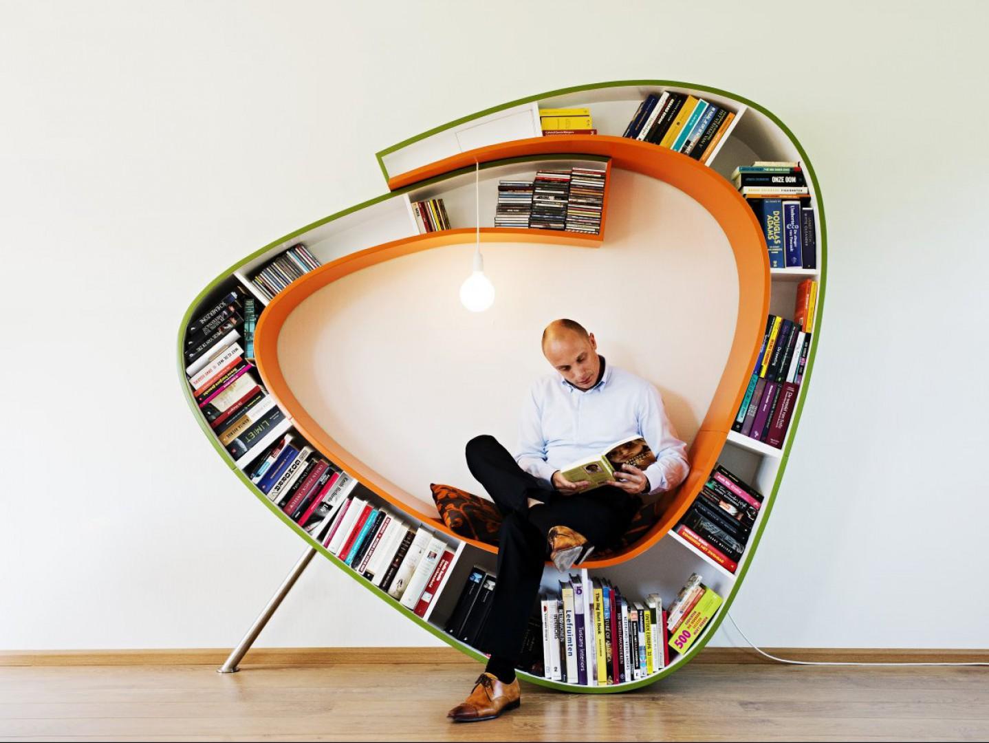 Wybieramy Meble Nietypowe Półki Na Książki Czytamy W