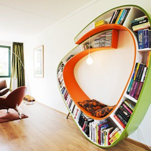 Półka na książki Modern Living