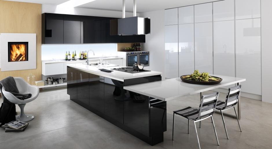Kuchnia dla dużej rodziny - funkcjonalna i komfortowa