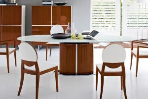 Stół do jadalni ze szklanym blatem - 12 propozycji