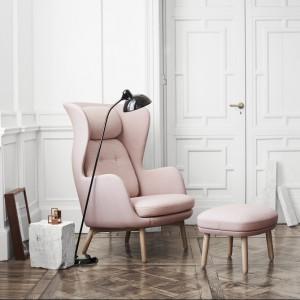 Fotel Ro wyróżnia się wygodną formą. Fot. Fritzhansen