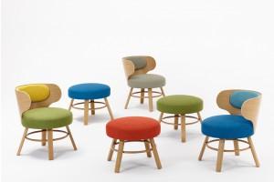 """""""K2""""-   krzesła, fotele i hokery w górskim stylu"""