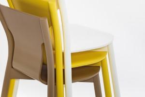 """Krzesła """"Tolo"""" - gięte i profilowane"""