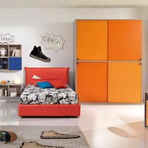 W pokoju nastolatka żywe kolory - mile widziane. Fot. Giessegi