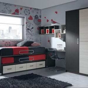 Dwa łóżka w jednym - dobre rozwiązanie na wypadek niespodziewanego gościa. Fot. Muebles Lara