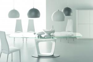 Meble ze szkła - 10 sposobów na nowoczesne wnętrze